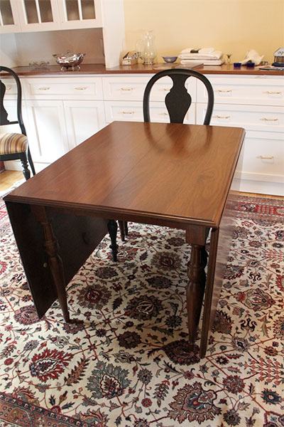 Gate Leg Dining Room Table
